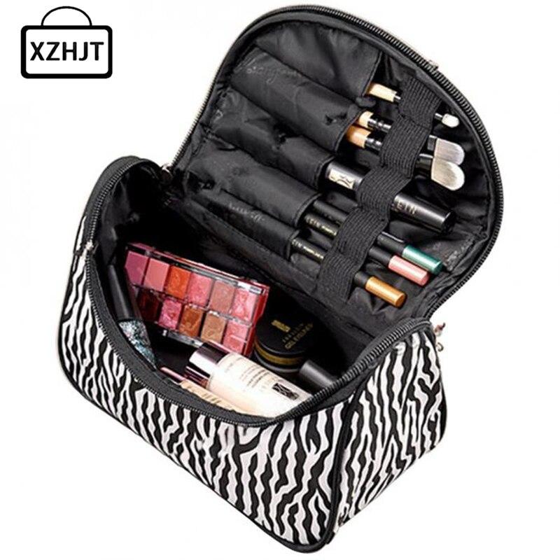 все цены на Casual Professional Multifunction Make Up Makeup Organizer Bag Women Cosmetic Bags Ourdoor Travel Bag Handbag Wash Kit онлайн