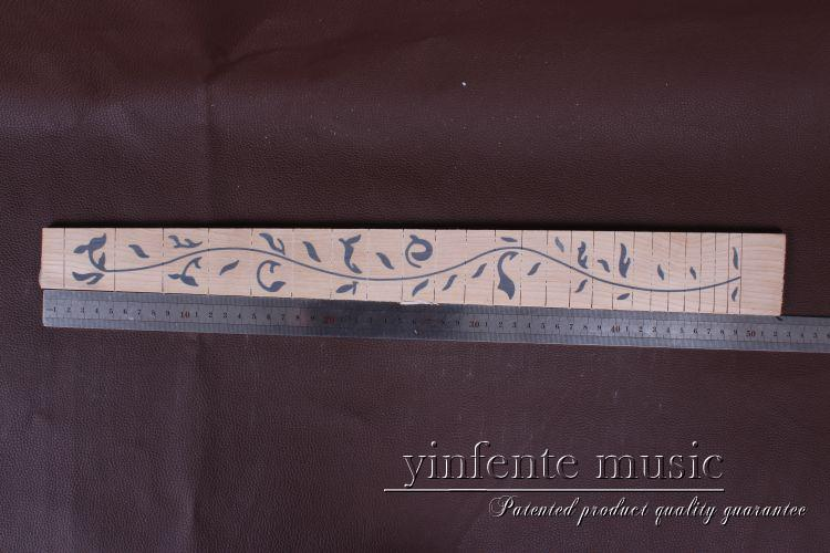 new 1 pce 24.75 nice   maple  wood   Guitar  neck  maple fingerboard  Guitar parts 5 # asus pce n15 300мбит с