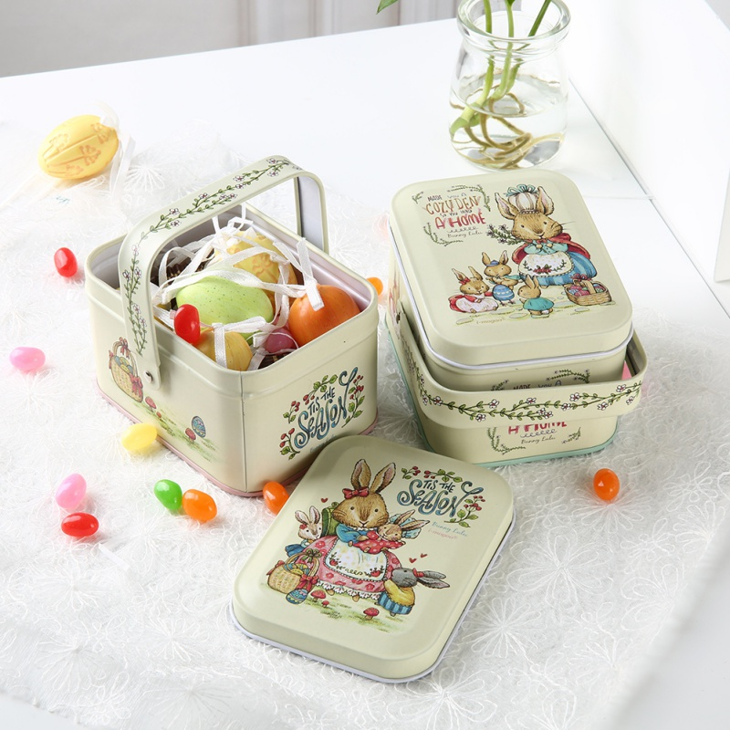 Candy Box Small Storage Cans Coin Earrings Headphones Gift Box Mini Tin Metal Box Sealed Jar Packing Boxes Jewelry ...