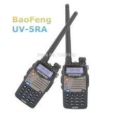 2-pcs Baofeng UV-5RA Walkie Talkie Black Dual Band VHF/UHF Baofeng UV 5ra Portable Amateur Ham Two Way Radio With Free Shipping