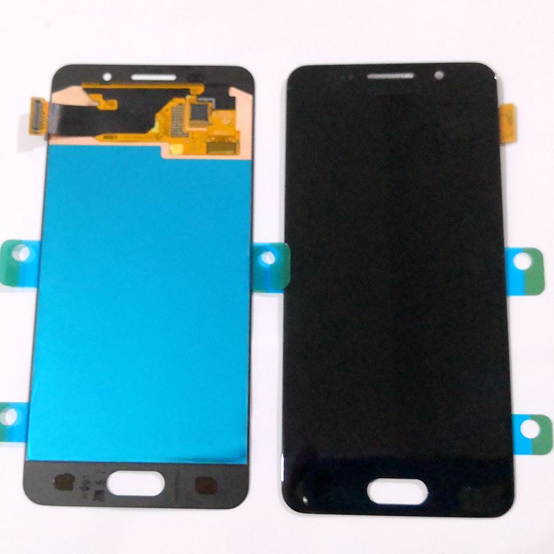 <font><b>Amoled</b></font> Tested good For Samsung Galaxy A3 2016 A310 <font><b>A310F</b></font>/ds <font><b>A310F</b></font> LCD With touch glass Full set for repair <font><b>display</b></font> A310 <font><b>Amoled</b></font> image