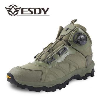 ESDY Tactische Militaire Legerkistjes outdoor mannelijke Quick reactie laarzen veter systeem Sneeuw wandelschoenen Lichtgewicht Sneakers