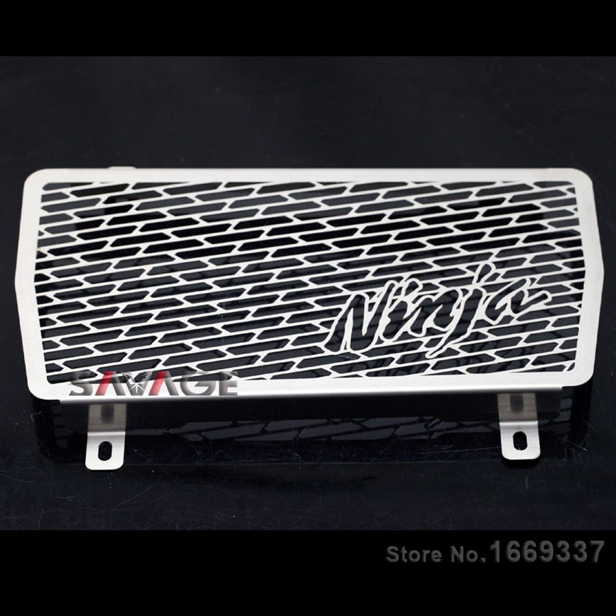 For KAWASAKI NINJA 250/300 Z250 2013 2014 2015 Motorcycle Radiator Grille Guard Cover Protector Fuel Tank Protection Net motorcycle motorcycle radiator protective cover grill guard grille protector for kawasaki z1000sx ninja 1000 2011 2012 2013 2014