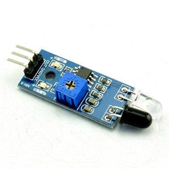 Samochód zdalnie sterowany odblaskowe fotoelektryczne 3pin na podczerwień czujnik unikania przeszkód moduł