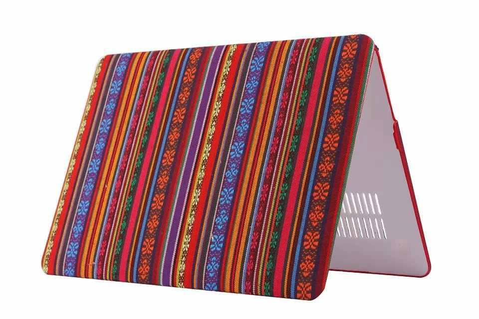 Offre spéciale couverture de coque rigide caoutchoutée Style chinois Folk pour macbook air 11 13 pro 13 15 pouces Retina 12 pouces