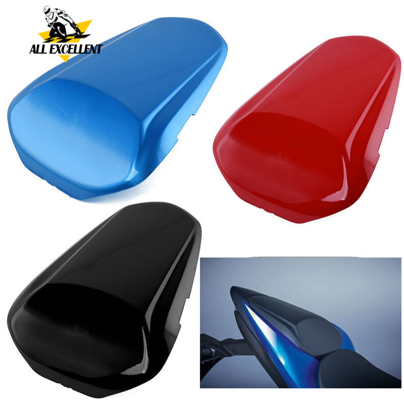 Motocycle Rear tail cover For For SUZUKI GSXR1000 17 18 GSX R1000 GSXR 1000 Passenger Pillion Solo Hard Seat Cowl Tail Cover