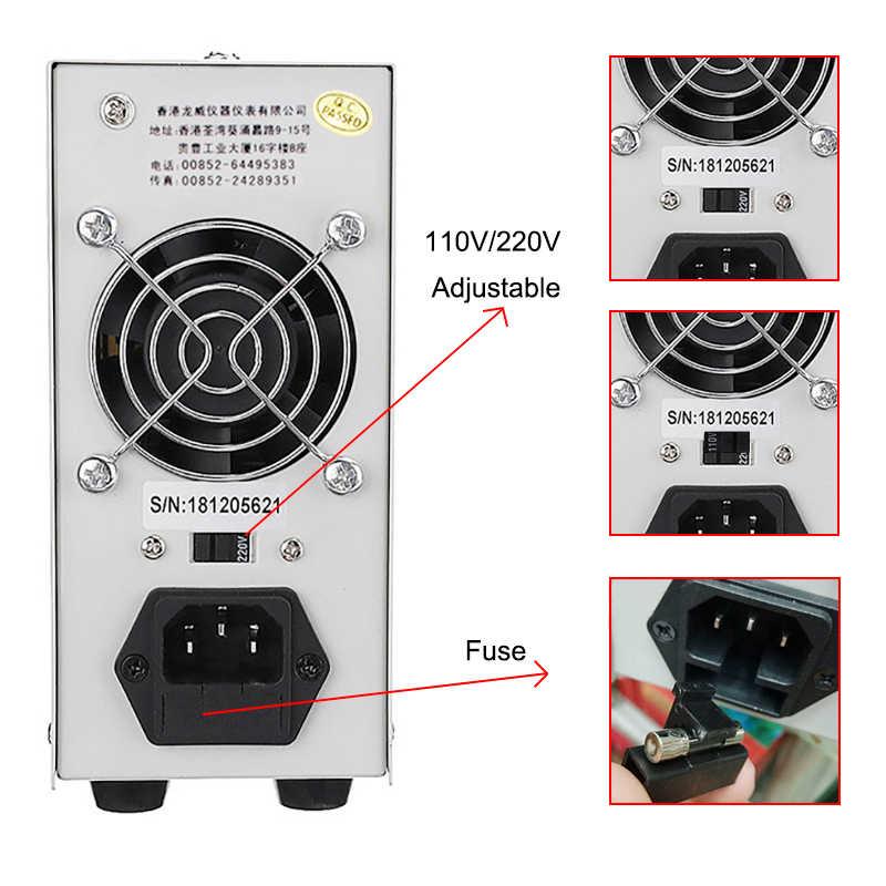 LW K305D, alimentation DC réglable de laboratoire, alimentation 30V5A, régulateur de commutation réglable, alimentation portable, réparation de téléphone