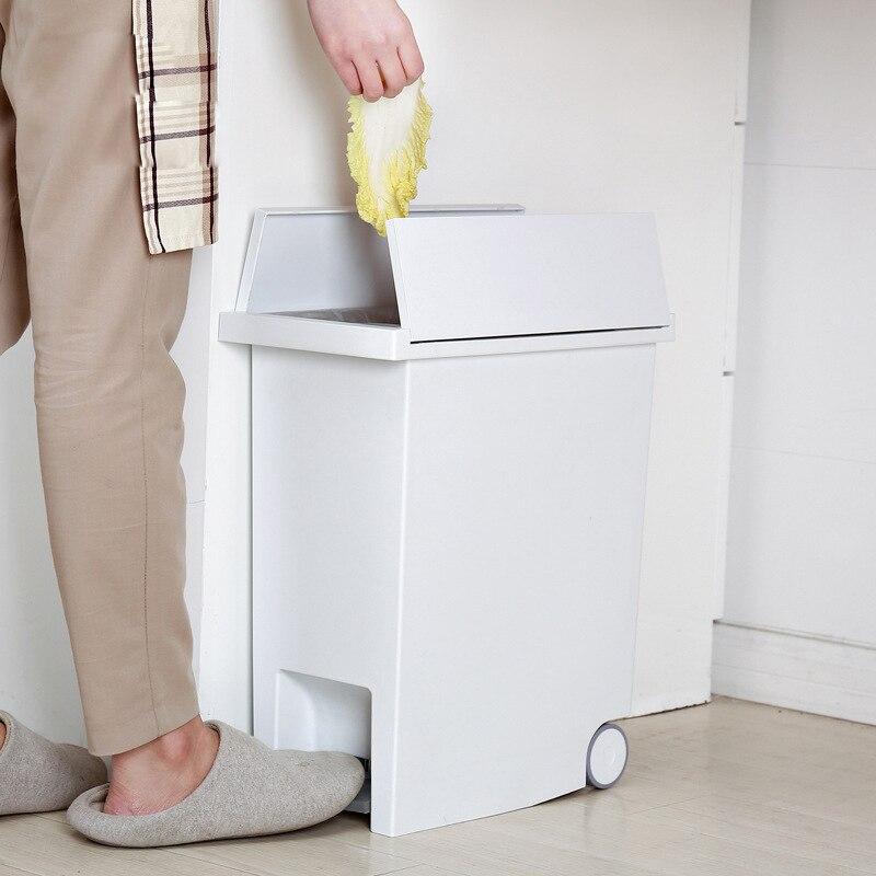 Poubelle pied sur WC salle de bain poubelle poubelles Classification poubelle peut Set salle de bain poubelle seau distributeur livraison directe