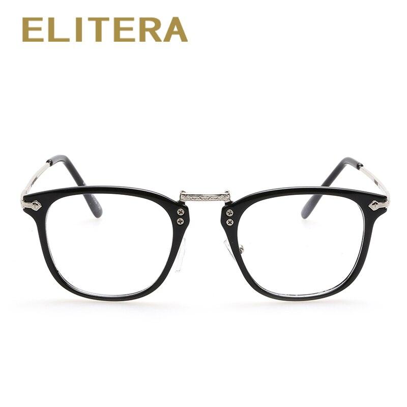Retro gafas de marco completo marco hombres y mujeres gafas marco ...