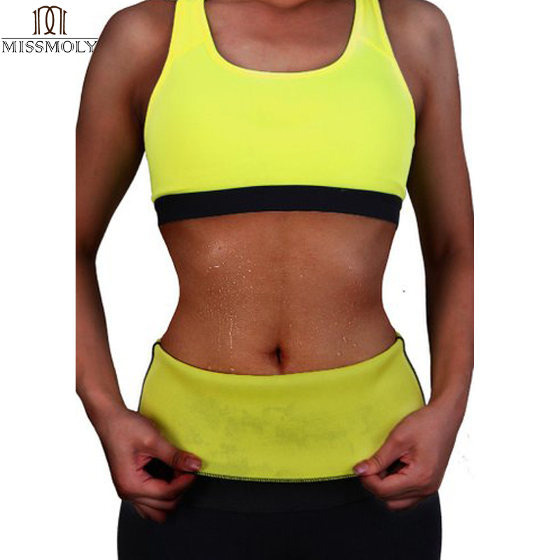 S-3XL Plus Size Slimming Waist Cinchers Women Neoprene Hot Body Waist Belts Weight Loss Waist Trainer Trimmer Corsets