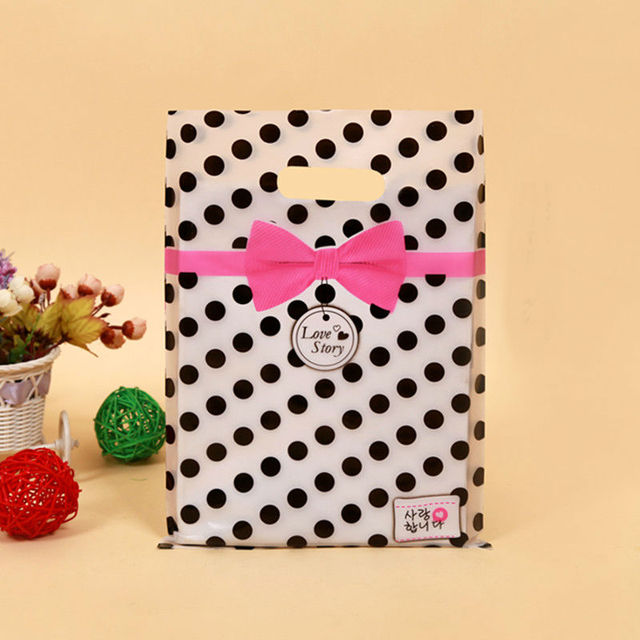 Geschenk Taschen Griffe Plastikbeutel Für Kleidung ...