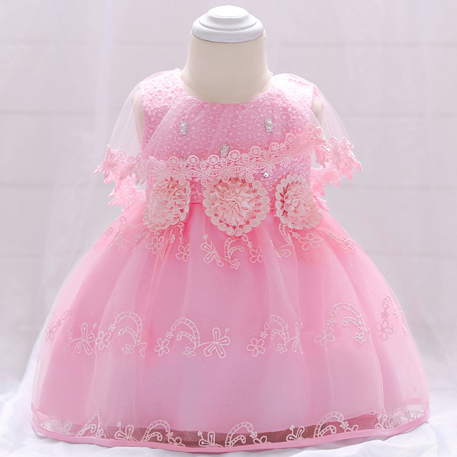 11df5b211 Baby Girl Second Birthday Party Ball Gown Dresses Newborn Baptism ...