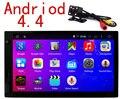 """Dual Core 7 """"дюймовый Двойной 2 Din Android 4.4 Универсальный Автомобиль Радио в тире Dvd-плеер Автомобиля Gps-навигация ПК Автомобиля Стерео видео"""