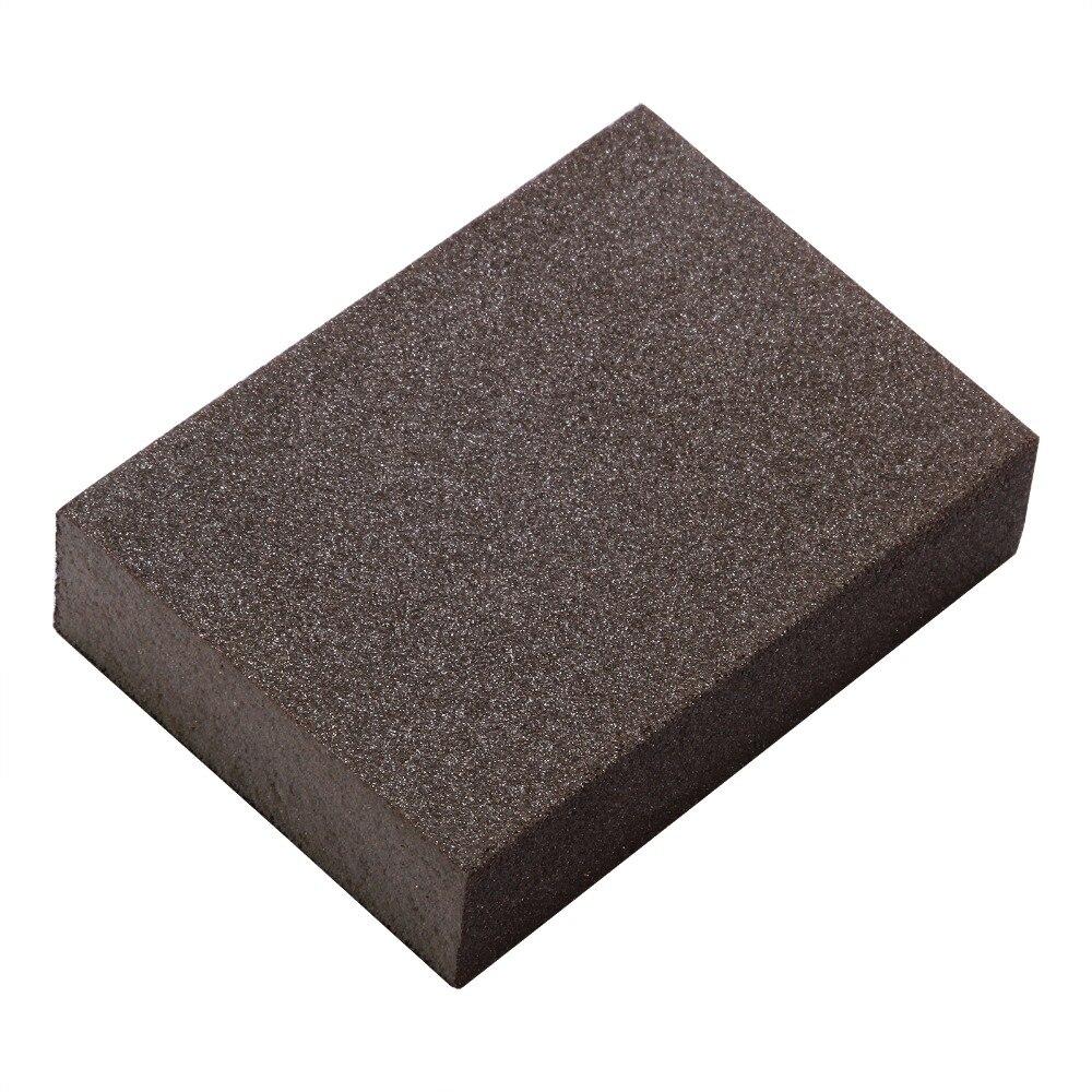 5pcs S 240-320# Polishing Sanding Sponge Block Pad Set Sandpaper Assorted Grit