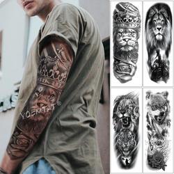 Водонепроницаемая временная татуировка наклейка зуб череп временная татуировка флэш-тату рука ноги назад Тато Drak Роза боди искусство для