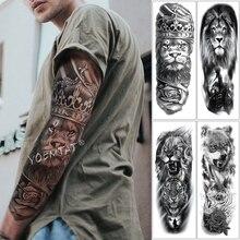 c2b6bcfb6 Autocollant de tatouage temporaire étanche dent crâne faux Tatto Flash Tatoo  main bras pied arrière Tato Drak rose Art corporel .