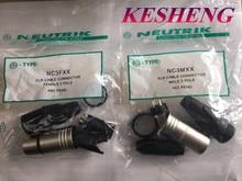 10 piezas/5 piezas NC3MXX y 5 piezas NC3FXX para NEUTRIK macho y hembra A set 3 pines XLR conector de alta calidad