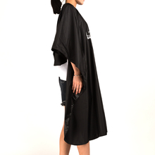 Recommend Professional Hair Cape For Hair Styling Waterproof 100% Polyester Hairdressing Cape Barber Salon Hair Cutting Gown O-9