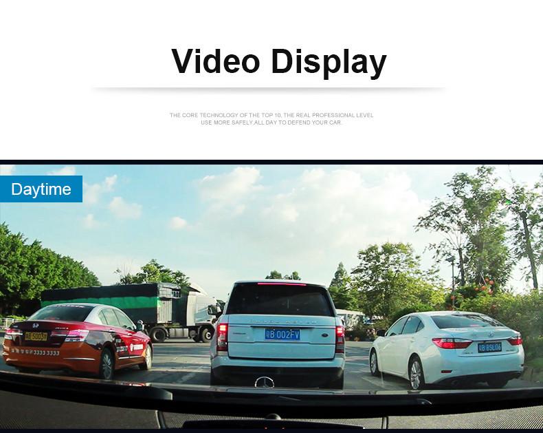 E-ACE Car Dvr Rearview Camera Mirror Auto Dashcam Video Recorder Automobile Full HD1080P Camcorder Dual Camera Lens Registrator 25