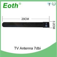 hdtv דיגיטלי Eoth טלוויזיה החלף אנטנה HDTV בחינם דיגיטלי מקורה אנטנה טלוויזיה Stick נקה חכם 1080p תשליך בכבלים Smart TV Stick אוויר Antenne (4)