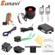 Russian Version Two Way Car Alarm System Remote Engine Start