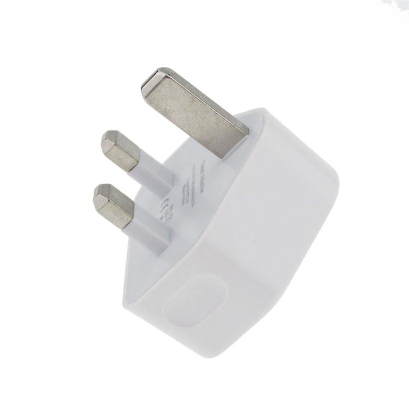 USB Wall Charger 3PIN UK Plug USB Port AC Power 2A Adaptor For All Phones Drop Shipping 1115 Free Shipping