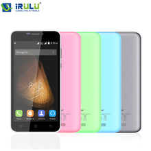 "Irulu original blackview bv2000s teléfono móvil 5.0 ""HD MTK6580 Quad A Core 1 GB RAM 8 GB ROM Android Dual SIM 3G WCDMA de Doble Cámara de 5.0MP"