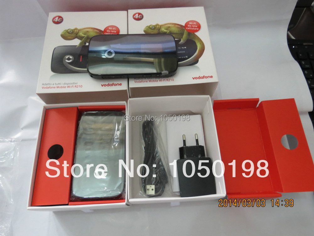 цена Original Unlock LTE 100Mbps Vodafone Mobile Wi-Fi HUAWEI Wireless 4G Router R210 Support LTE 800/1800/2600MHz