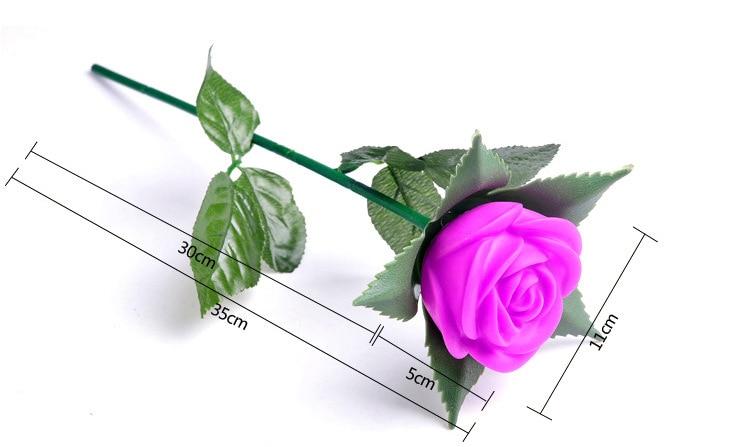 Nova ruža romantični otvoreni dvorište vrt put put tulipani bar - Rasvjeta za odmor - Foto 4