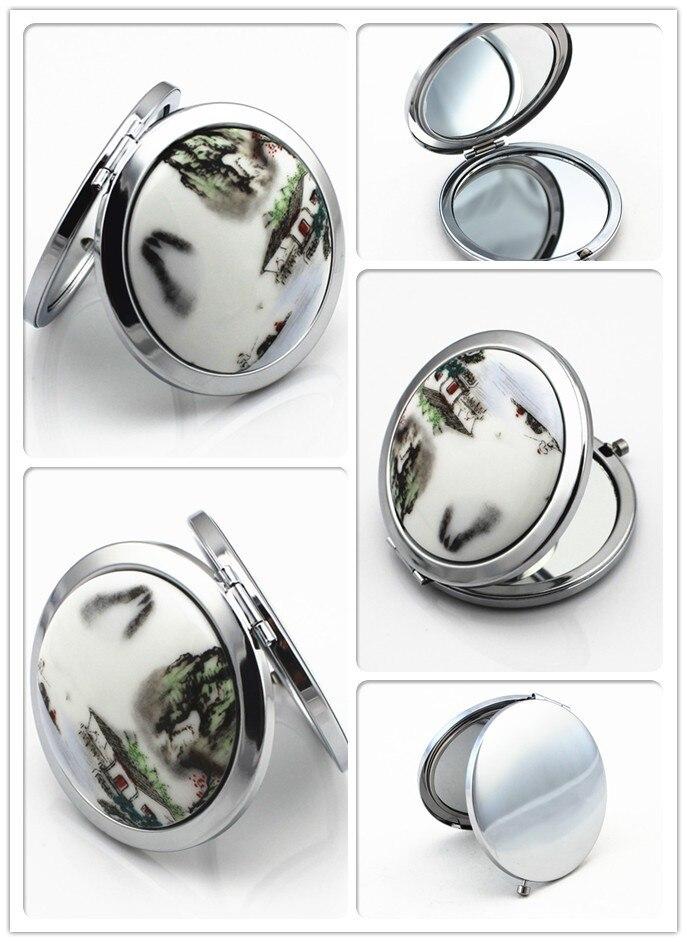 de cerâmica espelho dobrável espelho pode ser