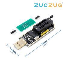 CH341A CH341 24 25 سلسلة EEPROM فلاش بيوس USB مبرمج مع البرنامج والسائق