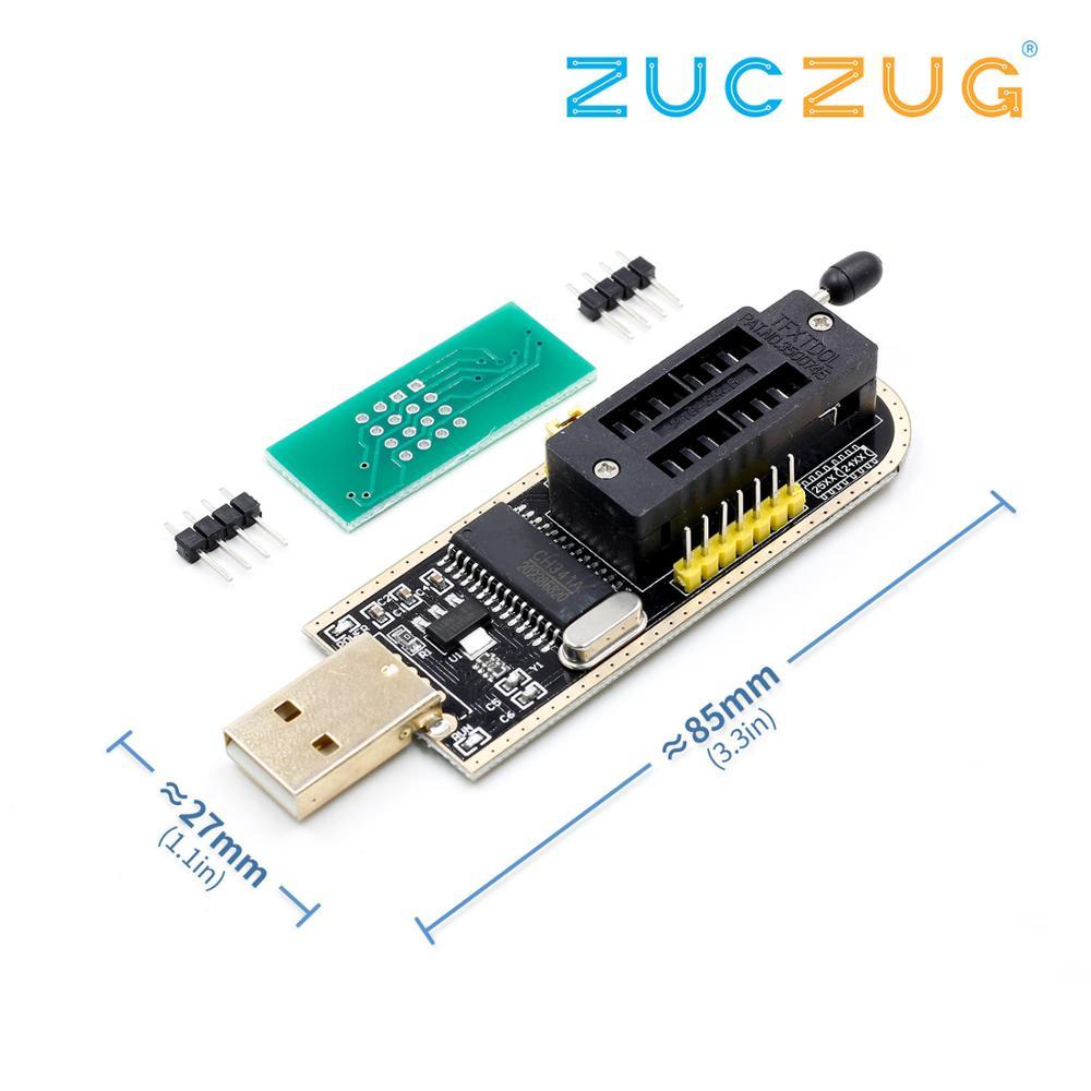 CH341A CH341 24 25 Series EEPROM Flash BIOS USB Programmer with Software & DriverCH341A CH341 24 25 Series EEPROM Flash BIOS USB Programmer with Software & Driver