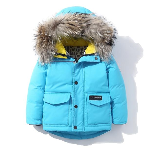 4ab00cbd7847 2018 new kids down coat girls boys down jackets children parka ...