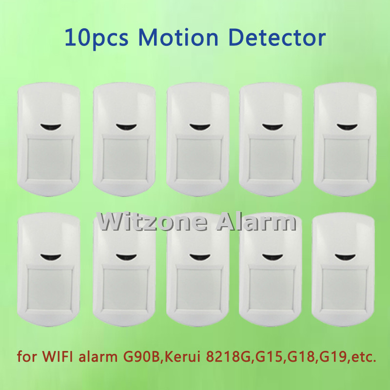 10pcs/lot 433MHz alarm pir detector alarm passive infrared sensor for wifi gsm pstn alarm security system, free shipping wired pir sensor passive infrared detector can reduce accident safety guarder for gsm alarm system pir 02 5pcs