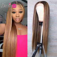 13×6 Blonde Lace Front Wigs Highlight 360 Lace Frotal Wig Brazilian Remy Lace Front Human Hair Wig Pre Plucked Wigs For Woman