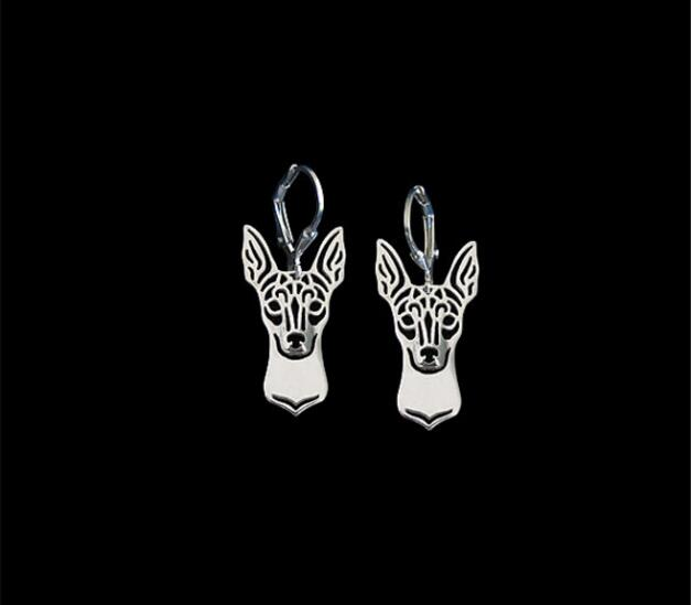 Hippie style Fox Terrier Ears Up Earrings Girl Gift Jewelry Idea -12Pairs/Lot(6Colors Free Choice)