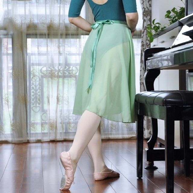 d0172dfaf19d 2018 Ballet Tutu Skirt Long Skirt Adult Costume Practice Clothes ...