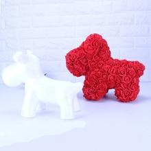 DIY bear of roses