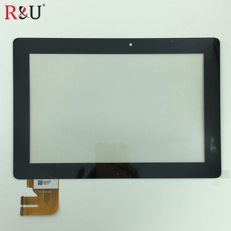 New 10.1 touch screen touch panel digitizer For Asus Transformer Pad TF300 G03 TF300T TF300TG TF300TL 69.10I21.G03 used parts lcd display glass panel touch screen digitizer assembly frame for asus transformer pad tf300 tf300t 69 10i21 g03 wifi