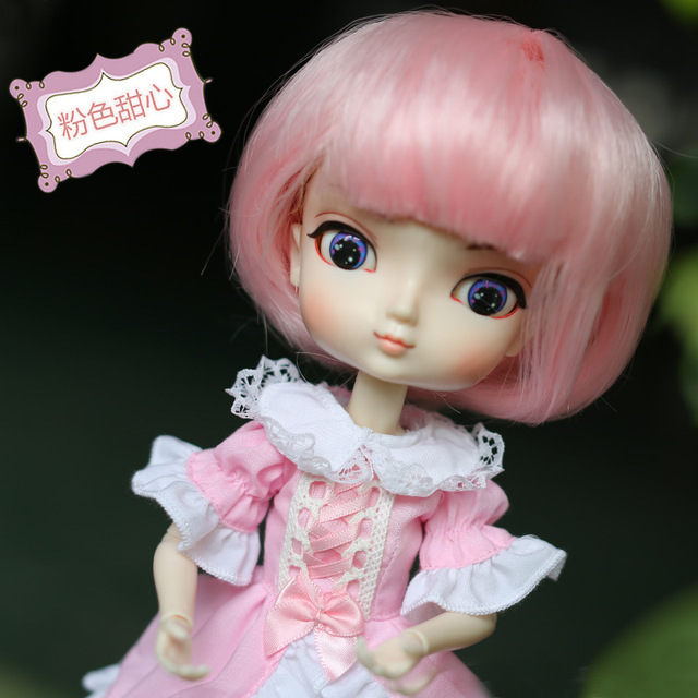 Free Shipping 35cm Jimusuhutu SD BJD Fashion Girl Dolls 1/6 Ball Joint Resin Kit Pretty Gril Doll Classic Gift Toy for Girl 4