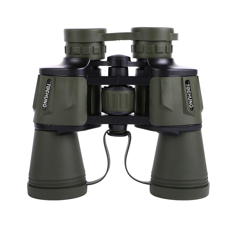 Waterproof powerful Binoculars 10X50 telescope Military Hd Professional Hunting Camping High Quality Vision No Infrared Eyepiece powerful telescopio military hd 8x40 binoculars professional hunting telescope zoom high quality vision no infrared eyepiece new