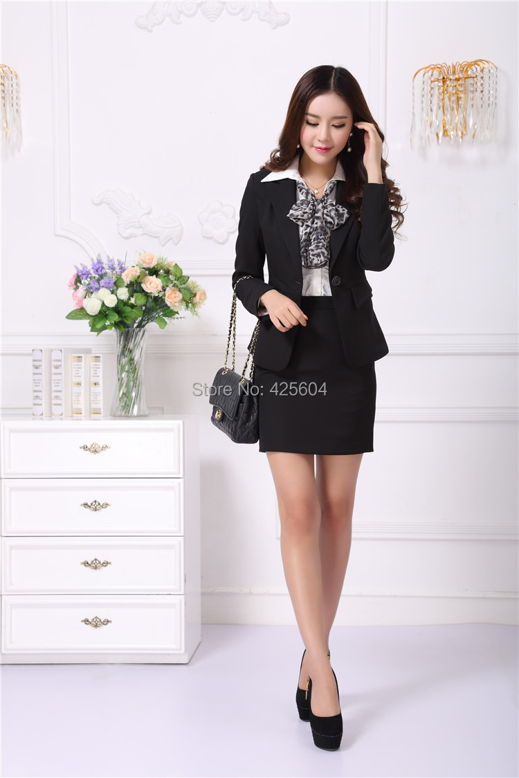 Aliexpress.com : Buy New Professional Women's Formal Career Suits ...