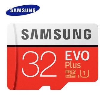 100% Original SAMSUNG Memory Card 32GB 95MB/s U1 SDHC 64GB 128GB 256GB SDXC U3 Micro SD Card Class 10 UHS TF Cards Flash Microsd