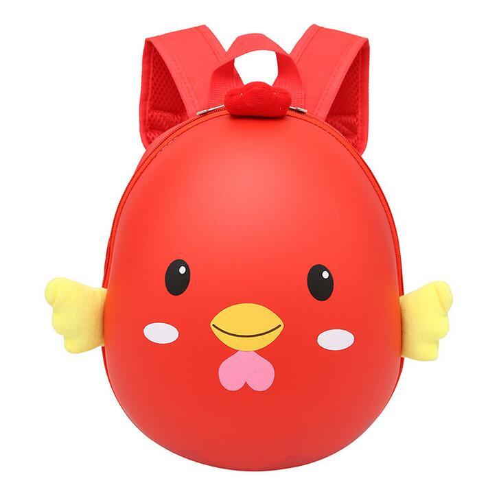 2018 חדש עוף לילדים ילקוטי קליפת ביצה גן תרמיל ספר תיק