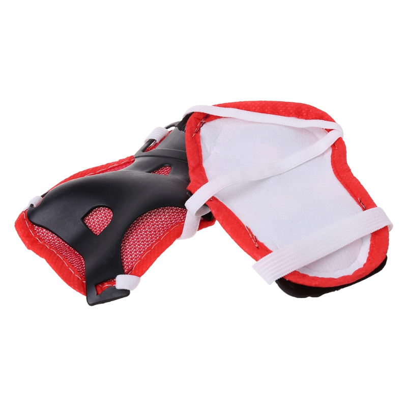 Details about  /4Pcs Portable INBIKE Children Free Size Knee Elbow Guard Pad for Skiing Cycling