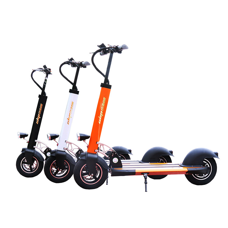 цены Electric scooter 10 inch adult folding two wheel aluminum alloy Mini lithium battery city scooter