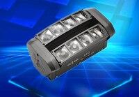 คุณภาพดีโรงงานโดยตรงขายหัวไฟมินิ LED Spider 8x10W RGBW Beam LIGHT