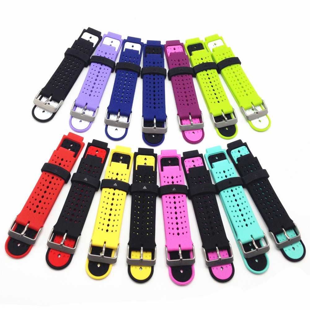 Strap Bracelet Wristbands Watch Smart-Accessories Garmin Forerunner Silicone Replacement