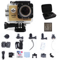 Wifi Action Cameras Go Pro Style Mini Cameras 1080P 2.0 LCD 12MP Sports DV Action Video Mini Camcorders + monopod