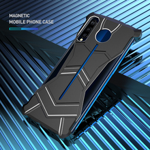 Magnetic Metal Frame Case For Vivo iQoo Hard Cover Slim Aluminum Alloy Heat Dissipation Superhero Pather Outdoor Sports Cool multifunctional heat dissipation 8gpu mining frame case stackable design aluminum acrylic insulation mining frame case